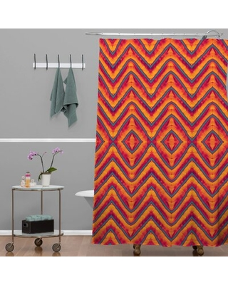 Wagner Campelo Sanchezia 1 Single Shower Curtain Deny Designs