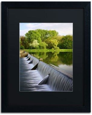 """Trademark Fine Art 'Vertical Activity' by Philippe Sainte-Laudy Framed Photographic Print PSL0294-B1 Matte Color: Black Size: 20"""" H x 16"""" W"""