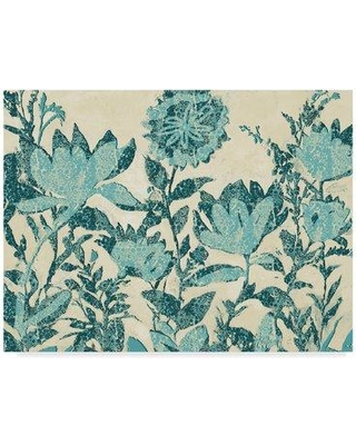Hot Deal! 73% Off Charlton Home 'Textured Flowers' Acrylic