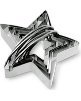 Stainless-Steel Star Biscuit 5-Piece Cookie Cutter Set