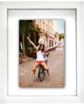 """Thin White Gallery 8*""""x10"""" Float Frame - Room Essentials"""