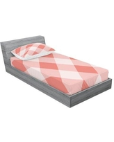 Amazing Deal On Esquivel Out Of The Box Gingham Sheet Set Corrigan Studio Size Twin