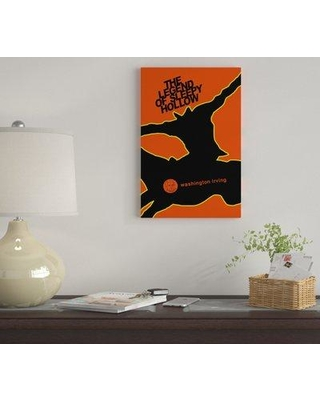 """East Urban Home 'The Legend Of Sleepy Hollow By Robert Wallman' By Creative Action Network Graphic Art Print on Wrapped Canvas FVNF4510 Size: 12"""" H x 8"""" W x 0.75"""" D"""