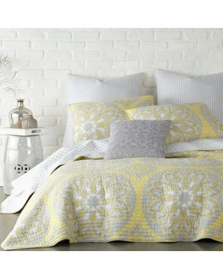 Don T Miss These Deals On Levtex Home Enzo Quilt Set And Shams Yellow Full Queen