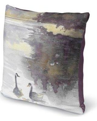 "Winston Porter Kalene Cotton Throw Pillow WNPR2742 Size: 16"" H x 16"" W x 6"" D"