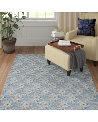 Deals For Culbertson Patterned Blue Gray Red Area Rug Red Barrel Studio Rug Size Rectangle 2 X 3