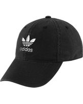 adidas Originals Women's Relaxed Strapback Hat, Black
