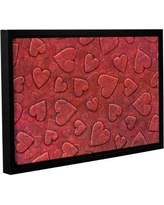Spectacular Sales For Zoomie Kids Large Heart Mixed Pattern Canvas Art Anjf5765 Size 24 H X 36 W X 2 D