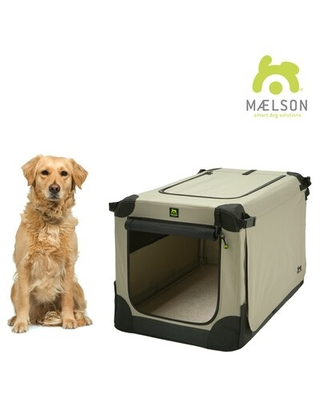 "Pet Soft-Sided Crate Maelson Size: Extra Large (25"" H x 25"" W x 36"" L)"