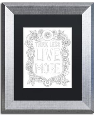 """East Urban Home 'Inspirational Quotes 1' Framed Graphic Art ETRB6756 Size: 14"""" H x 11"""" W x 0.5"""" D Matte Color: Black"""