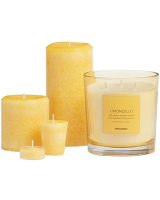 Limoncello Scented Candle Collection by World Market