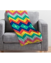 Deny Designs Juliana Curi Throw Blanket 16119-fle Size: Small