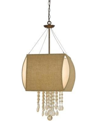 Bungalow Rose Saul 4-Light Square/Rectangle Chandelier BNRS4185