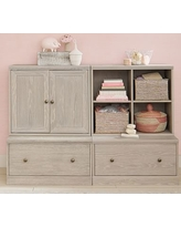 Cameron Bookcase Cubby, Charcoal