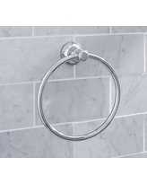 Hayden Towel Ring, Chrome Finish