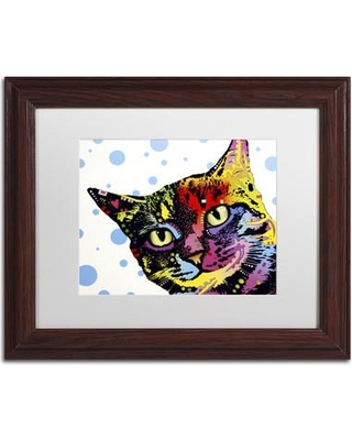 Sales On Trademark Fine Art The Pop Cat Picture Frame Graphic Art Print On Canvas Canvas Fabric In Brown Size 13 8 H X 16 8 W X 0 75 D Wayfair
