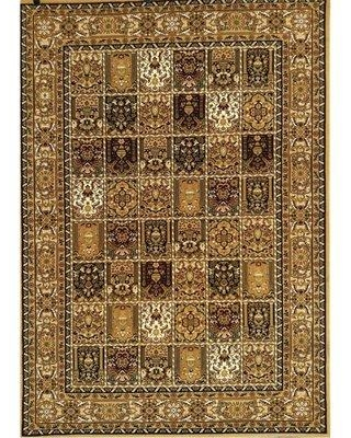 New Bargains On World Menagerie Sahale Beige Brown Black Area Rug W001457416 Rug Size 5 4 X 7 5