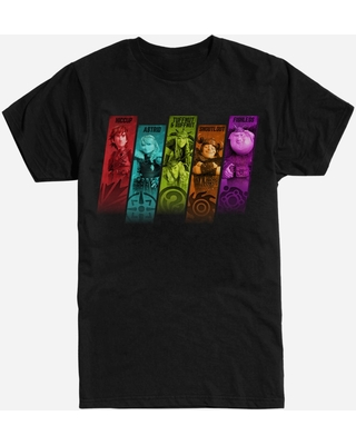 How To Train Your Dragon Characters T-Shirt