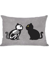 The Holiday Aisle Face Off Lumbar Pillow THLY1849