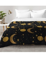 East Urban Home My Moon and Stars Comforter Set EAHU7335 Size: King