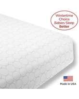 SwaddleDesigns Fitted Crib Sheet/Toddler Sheet, Baby Sleeps Better on Softest Cotton Flannel, Made in USA, Sterling Mod Circles
