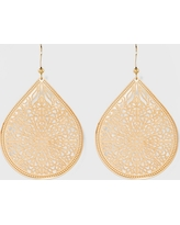 Women's Fashion Earring Filigree - A New Day Gold, Bright Gold