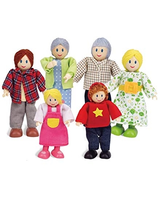 """Happy Family Dollhouse Set by Hape 