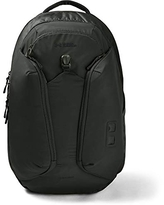 Under Armour Men's Contender 2.0 Backpack , Black (003)/Metallic Faded Gold , One Size Fits All