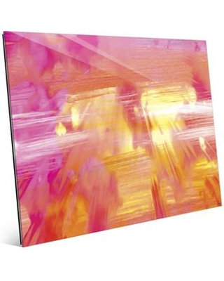 """Click Wall Art 'Pure Capacity' Graphic Art on Plaque CBS0000050GLS Size: 20"""" H x 24"""" W x 1"""" D"""