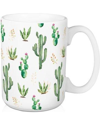 bbc0bbc56a5 Don't miss Summer Sales on Bungalow Rose Caden Simple Cactus Pattern ...