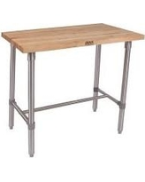 "John Boos Cucina Americana Counter Height Dining Table CUC Finish: Maple Size: 36"" H x 48"" W x 24"" D"