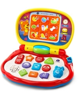 VTech Brilliant Baby Laptop Teaches Colors, Shapes, Animals and Music