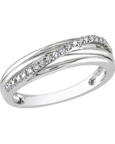 Women's Cocktail Ring - 9 - Silver