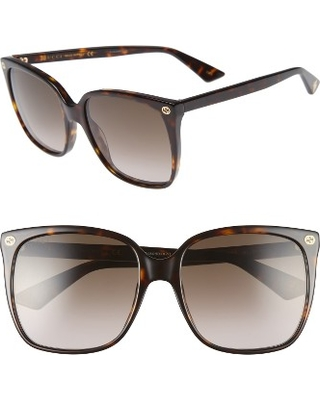 8676dd90d84 Find the Best Savings on Women s Gucci 57Mm Square Sunglasses ...