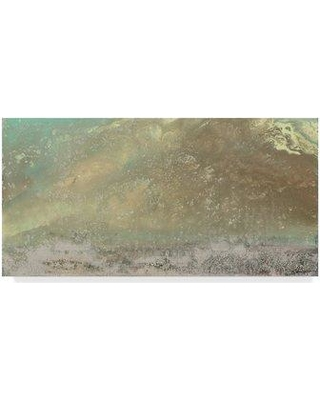 """Ebern Designs 'Converging Winds I' Print on Wrapped Canvas ENDE2922 Size: 24"""" H x 47"""" W x 2"""" D"""