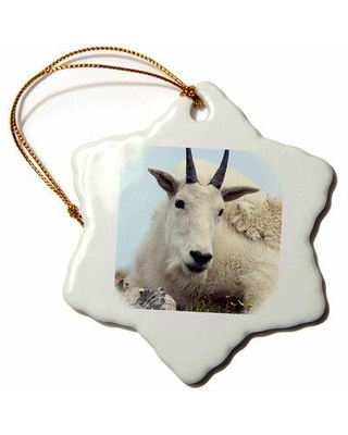 The Holiday Aisle Alpine Goat Holiday Shaped Ornament X113736860