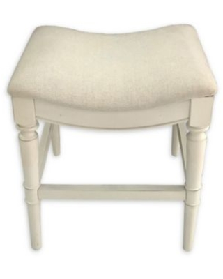 Remarkable Bee Willow Home Bee Willowa Home Normandy 26 Inch Backless Saddle Counter Stool In White Wash From Bed Bath Beyond Real Simple Creativecarmelina Interior Chair Design Creativecarmelinacom