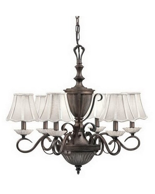 Big Deal On Canby 6 Light Shaded Classic Traditional Chandelier Alcott Hill