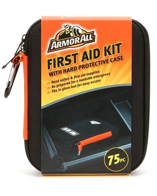 Armor All 75 Piece First Aid Kit