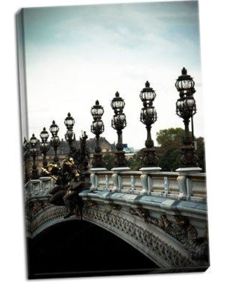 Winston Porter 'Pont Alexandre III' Photographic Print on Wrapped Canvas BF045827