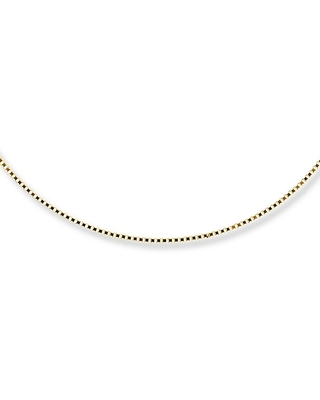 Jared The Galleria Of Jewelry Box Chain Necklace 14K Yellow Gold 20 Length