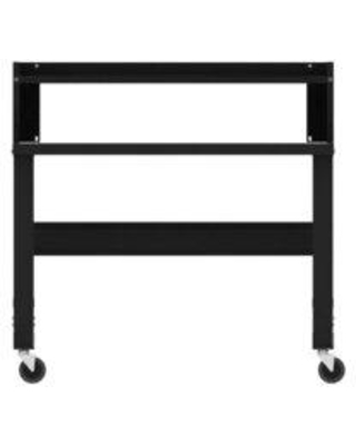 """WFX Utility™ Painted 48"""" Adjustable Height Steel Top Workbench, Steel in Black, Size Medium   Wayfair C2E1F5BFD55940A7A5A6E8531AE479FA"""