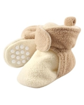 Fleece Lined Non-Skid Soft Sole Booties (Baby & Toddler Boys)
