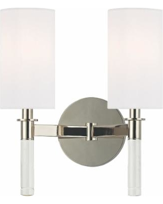 Hudson Valley Lighting Wylie 10 Inch Wall Sconce - 6312-PN