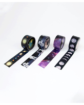 Suck UK Tape Dispensers - Space Washi Tape Roll - Set of Four