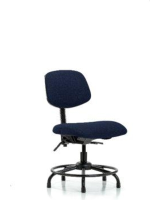 Symple Stuff Niamh Round Tube Base Desk Height Ergonomic Office Chair BF162138 Tilt Function: Included Color (Upholstery): Navy