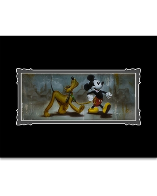 Mickey Mouse and Pluto ''Man's Best Friend'' Deluxe Print by Noah Official shopDisney