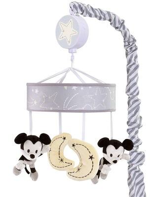 Lambs & Ivy Disney Baby Musical Baby Crib Mobile - Mickey Mouse