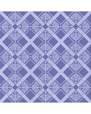 East Urban Home Geometric Wool Blue Area Rug X113336272 Rug Size: Square 4'