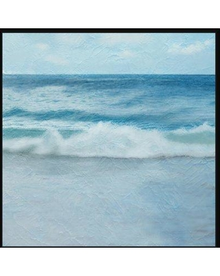Highland Dunes 'Ocean Waves II' Framed Graphic Art Print BI019570